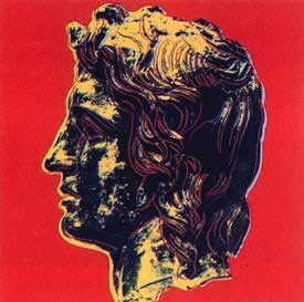 ANDY WARHOL Alexander the Great